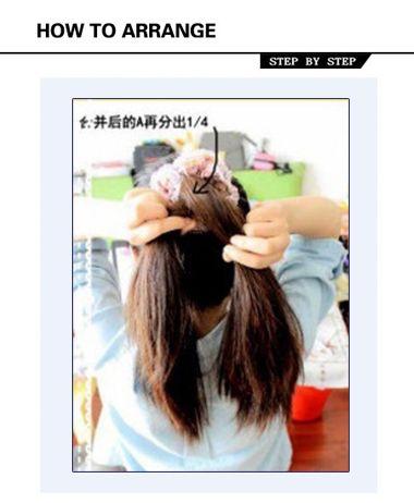 刘海鱼骨辫怎么编_鱼骨辫图解 女生鱼骨辫怎么编(4)_发型师姐