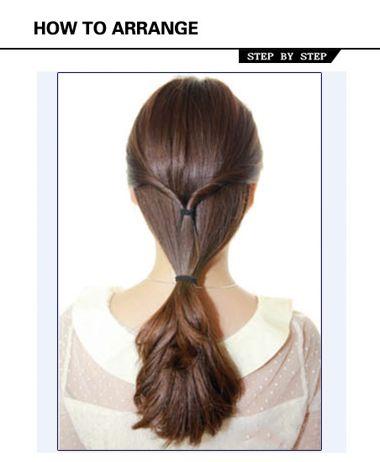 淑女的长发怎么盘 淑女盘头发的发型