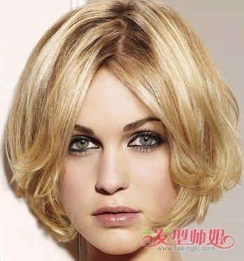短发大长脸适合什么发型 大脸短发发型图片