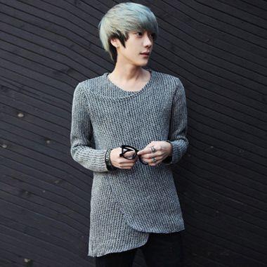 男生头发染白色好看吗 男生怎么染白头发好看