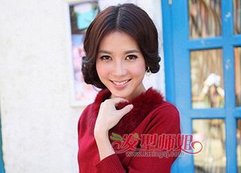 方形脸适合中分吗_方形脸适合什么扎发方脸可以把刘海扎起来吗(3)_发型师姐