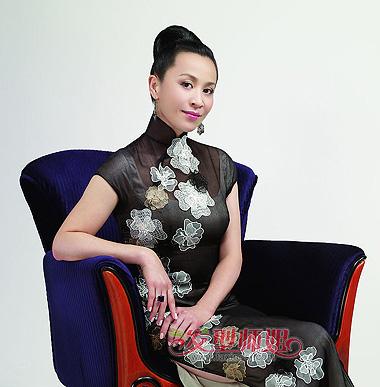 中国女王大全_老年女性发型图片大全 中国中老年女性时尚发型(2)_发型师姐