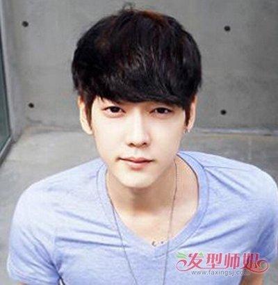 椭圆脸型适合的刘海_适合圆形脸男生的发型 男生圆脸发型图片及名称(4)_发型师姐