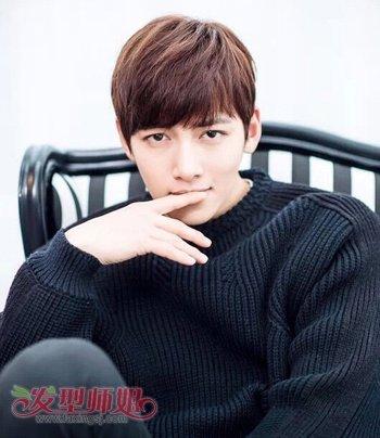 深栗色是什么颜色_韩国男明星头发颜色是什么 各种男生头发颜色的图片_发型师姐
