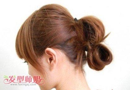 中短发怎么盘花苞头 头发短花苞头如何做好看又简单