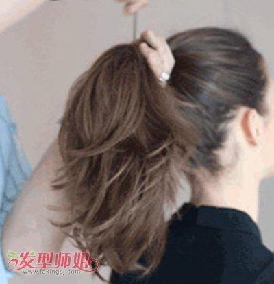 怎样盘复古包包刘海 头发刘海包包
