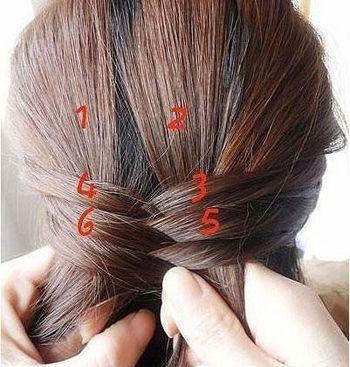 刘海鱼骨辫怎么编_怎么编头发鱼骨辫 鱼骨辫的详细过程(3)_发型师姐