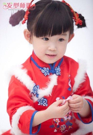 小女孩编辫子发型图片 适合小孩子编的发型