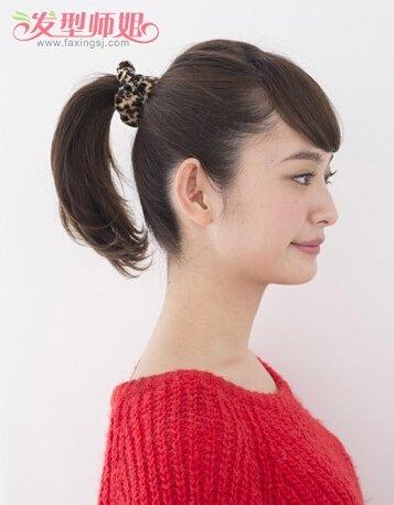 174女生发型怎样扎好看+学生清爽点的扎发