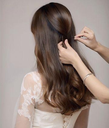新娘发型详细步骤_唯美新娘盘发发型详细步骤 打造时尚浪漫新娘发型(2)_发型师姐