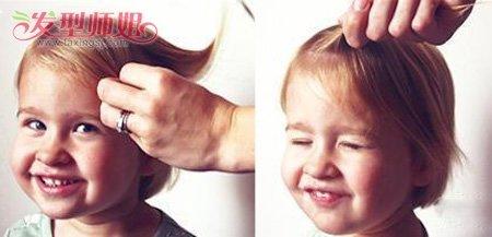 教你怎么给小孩子编头发 小孩编头发步骤照片