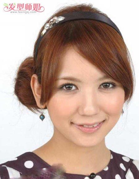 圆脸的人适合盘什么发型 圆脸适合的盘头发型步骤图片