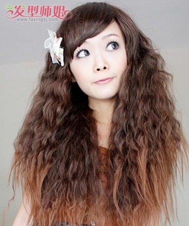 芭比烫的发型 可爱芭比烫发型图片 4图片