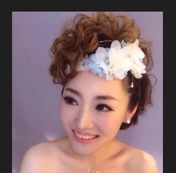 中短发新娘发型视频_中短发怎么盘新娘发 短发新娘盘发造型图片大全(4)_发型师姐