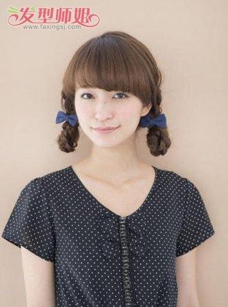 怎样编漂亮的发型 编制复古发型图片