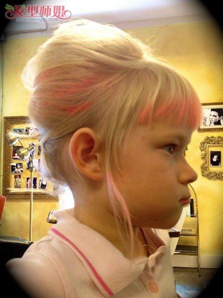 儿童盘发发型扎法 儿童盘头发步骤