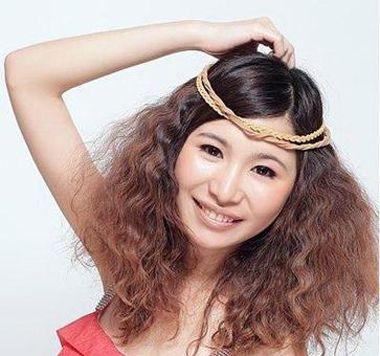 头发少的长发烫什么发型好 头发少长发的女生适合烫什么发型