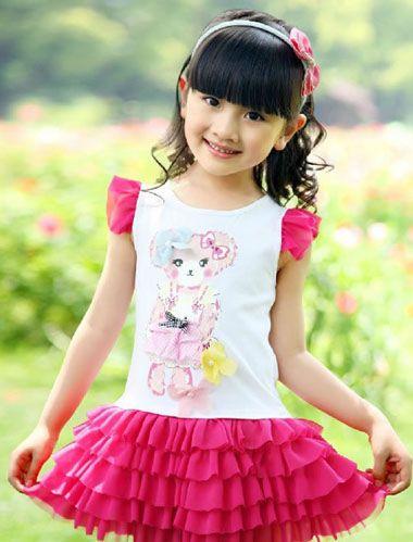 横刘海的小孩子怎么扎韩式公主头 女孩刘海样式