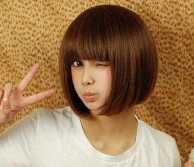 什么女生发型不用烫 不用烫的女生发型