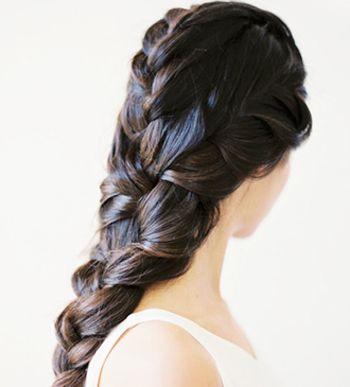 教你如何盘头发图片_五指辩头发怎么扎 如何扎五手辩头发(5)_发型师姐
