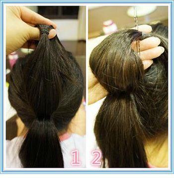 女生好看发型扎法_小学生怎样扎头发可爱 12岁小学生女生扎头发_发型师姐