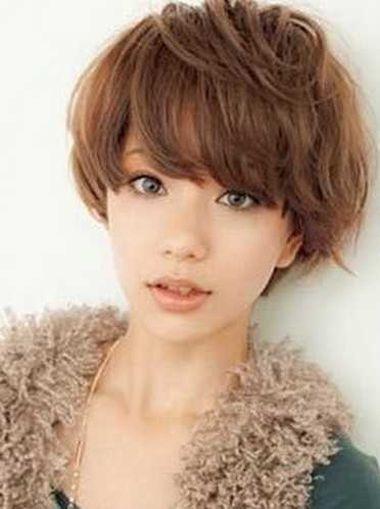 短发螺旋烫发发型_女生烟花烫发型图片 短发烟花烫发型图片(4)_发型师姐