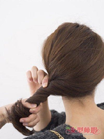 如何盘古代发型 古典气质盘发发型图解