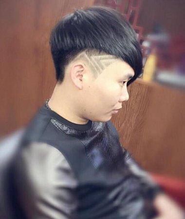 男士中短发发型设计_2016夏季男生圆脸短发 男生超短头型设计图(4)_发型师姐
