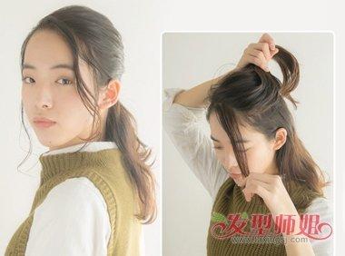 卷发怎么扎显得年轻 简单的卷发扎法步骤