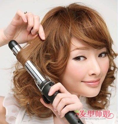 半长发怎样用卷发棒 适合中长发用的卷棒