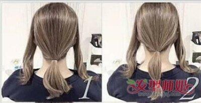 怎么把长头发挽起来 长头发自己能弄的花样