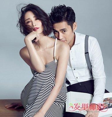 袁弘张歆艺恩爱机场同行 夫妻发型完美虐狗