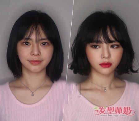 发型对脸型的重要性你知道吗 五款发型学会发型与脸型的搭配
