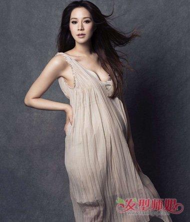 千亿媳妇徐子淇结婚10周年 美的发型让你认不出