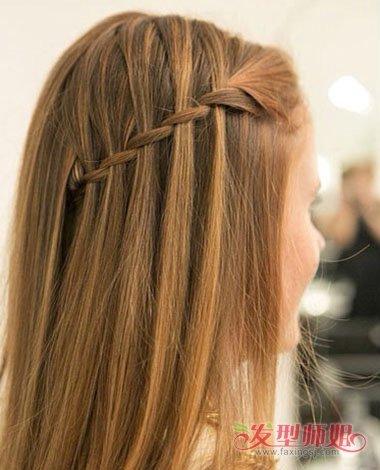 刘海织辫子发型步骤 有刘海适合扎什么样的发型