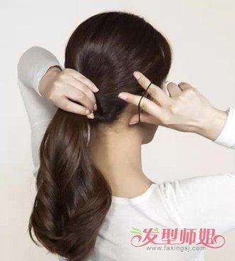 夏天如何把头发挽在脑后 夏天头发的简单盘法