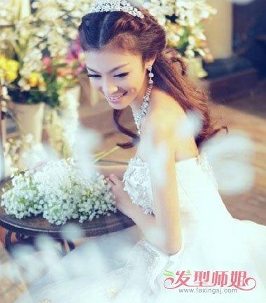 公主头新娘发型怎么做 简单公主发型步骤图解
