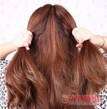 如何将头发盘起来更显青春 青春漂亮盘发发型步骤