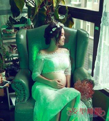 准妈妈留什么发型的图片 适合产妇妈妈的发型