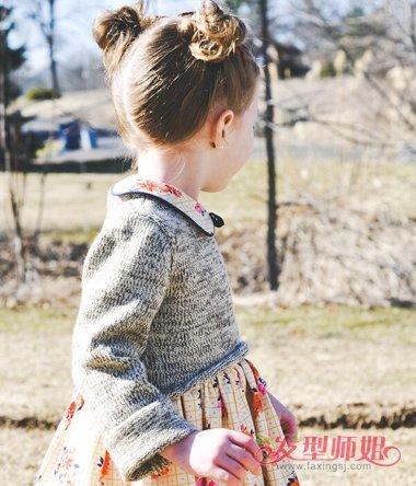 幼儿园的小朋友头发怎么扎可爱 适合可爱小孩子女生头发