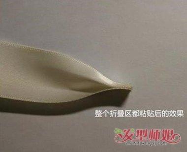 蝴蝶结发饰教程图解 蝴蝶结发饰的制作方法
