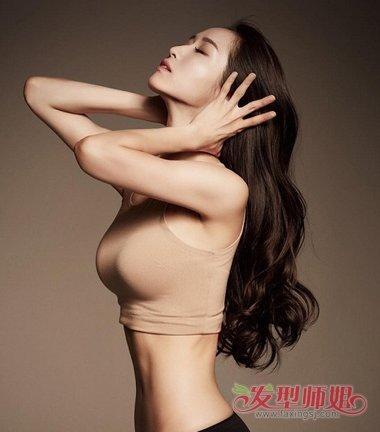一次性的头发可以做成韩国波浪吗 韩式大波浪发型
