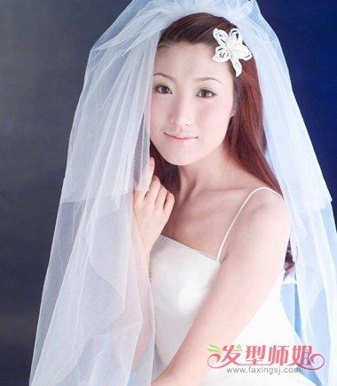 头发颜色酒红色好看吗 新娘的头发颜色红色