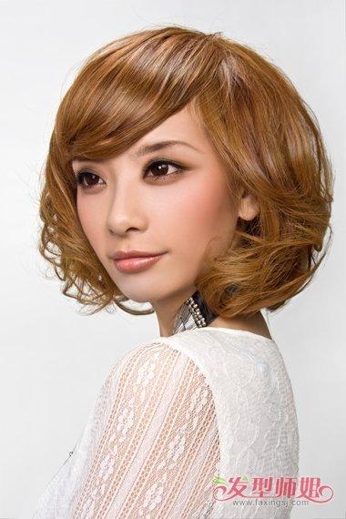 短头发女生皮肤_小女生现在流行做头发什么颜色 现在头发染什么颜色好看图片 ...