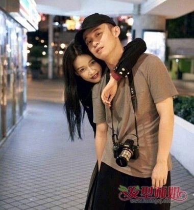 董子健孙怡爆已结婚 情侣照拍出青春范儿的发型