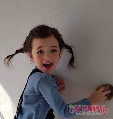 儿童花式简单头发编发 儿童花样编头发