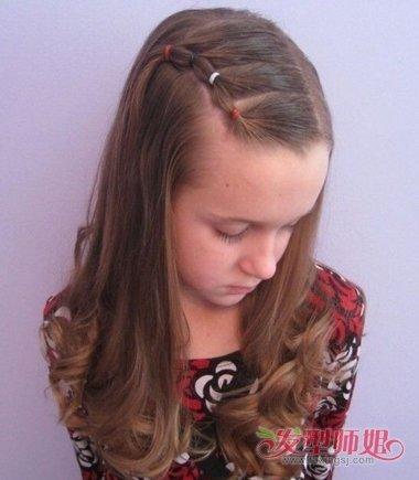 儿童头发多有点环节适合什么发型