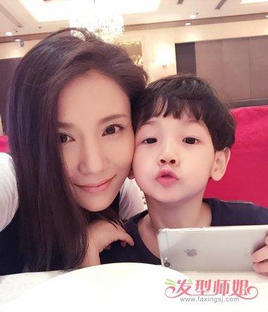 欧阳老师王黎雯的发型 是辣妈更是气质女神