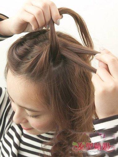 短头发刘海的扎法 短头发有刘海怎么扎头发好看