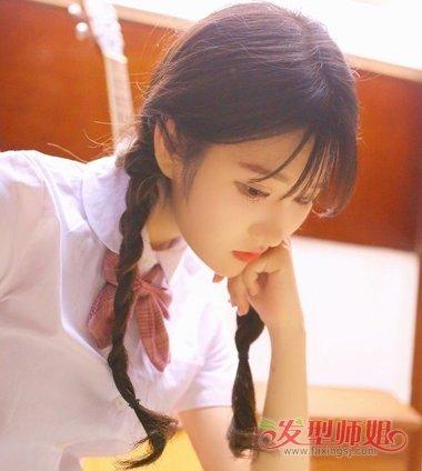 编织好看的少女辫子 少女编的麻花辫花样